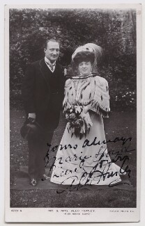 Alexander ('Alec') Hurley; Marie Lloyd, published by Rotary Photographic Co Ltd - NPG Ax45915