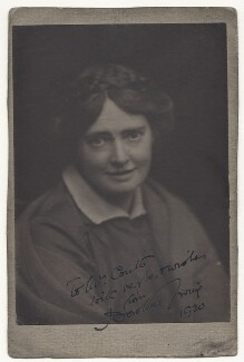 Dorothea Ewing, by Unknown photographer, circa 1920 - NPG Ax45934 - © National Portrait Gallery, London