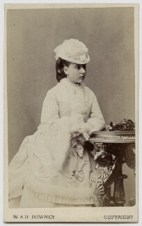 Princess Beatrice of Battenberg, by W. & D. Downey - NPG Ax46163