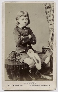 Prince Albert Victor, Duke of Clarence and Avondale, by Hills & Saunders - NPG Ax46174