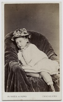 Princess Victoria of Wales, by James Russell & Sons, circa 1873 - NPG Ax46177 - © National Portrait Gallery, London