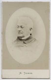 Louis Adolphe Thiers, by London Stereoscopic & Photographic Company - NPG Ax46226