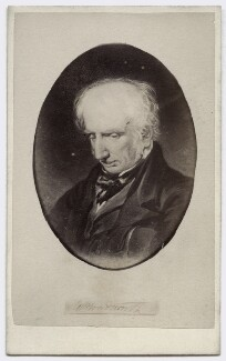 William Wordsworth, by W. Baldry, after  Benjamin Robert Haydon, 1860s (1842) - NPG Ax46229 - © National Portrait Gallery, London