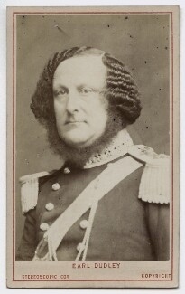 William Ward, 1st Earl of Dudley, by London Stereoscopic & Photographic Company - NPG Ax46230