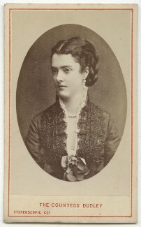 Georgina Elizabeth Ward (née Moncreiffe), Countess of Dudley, by London Stereoscopic & Photographic Company - NPG Ax46231