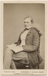 William Ewart Gladstone, by William Walker & Sons - NPG Ax46253