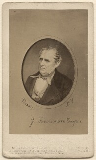 James Fenimore Cooper, by Mathew B. Brady - NPG Ax46286