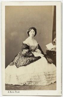 Amy Mildred (née Charlton), Lady Dingli, by Alexandre Ken - NPG Ax46864