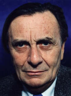 Barry Humphries, by Polly Borland - NPG x88448