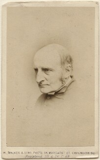 Reverend Carter, by William Walker & Sons - NPG Ax47060