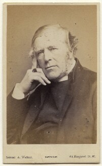 Thomas Legh Claughton, by Samuel Alexander Walker - NPG Ax47071