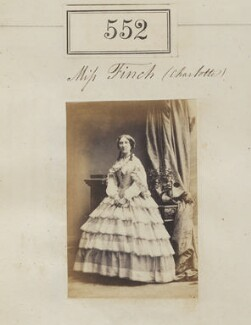 Possibly Louisa Finch, by Camille Silvy - NPG Ax50246