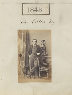 Edward Cutler, by Camille Silvy - NPG Ax51234