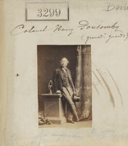 Sir Henry Frederick Ponsonby, by Camille Silvy - NPG Ax52700