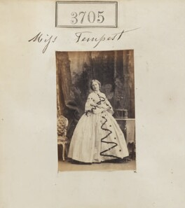 Miss Tempest, by Camille Silvy - NPG Ax53101