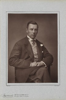Joe Chamberlain, by Herbert Rose Barraud, published by  Richard Bentley & Son - NPG Ax5410