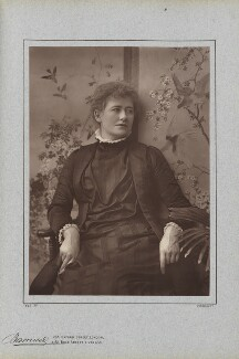 Ellen Terry, by Herbert Rose Barraud, published by  Richard Bentley & Son - NPG Ax5411