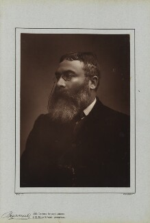 Sir Walter Besant, by Herbert Rose Barraud, published by  Richard Bentley & Son - NPG Ax5417