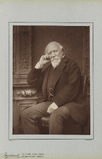 Robert Browning, by Herbert Rose Barraud, published by  Richard Bentley & Son - NPG Ax5418
