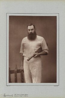 W.G. Grace, by Herbert Rose Barraud, published by  Richard Bentley & Son - NPG Ax5424