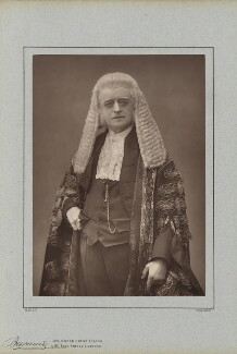 Sir Henry Cotton, by Herbert Rose Barraud, published by  Richard Bentley & Son - NPG Ax5426
