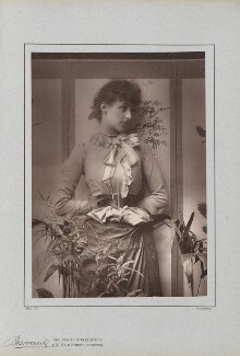 (Marion Margaret) Violet Manners (née Lindsay), Duchess of Rutland, by Herbert Rose Barraud, published by  Richard Bentley & Son - NPG Ax5427