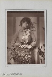 (Marion Margaret) Violet Manners (née Lindsay), Duchess of Rutland, by Herbert Rose Barraud, published by  Richard Bentley & Son, published 1888 - NPG Ax5427 - © National Portrait Gallery, London