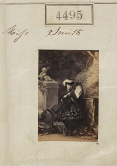 Miss Smith, by Camille Silvy - NPG Ax54507