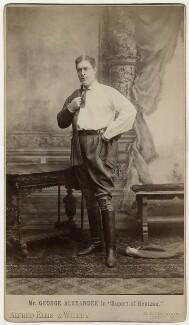 Sir George Alexander (George Samson) as Rudolf Rassendy in 'Rupert of Hentzau', by Alexander Corbett, for  Alfred Ellis & Walery - NPG x5475