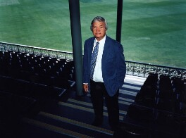 Richie Benaud, by Polly Borland - NPG x88462