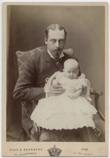Prince Leopold, Duke of Albany; Princess Alice, Countess of Athlone, by Hills & Saunders, 1883 - NPG Ax5552 - © National Portrait Gallery, London