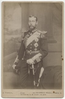 King George V, by John Thomson - NPG Ax5557