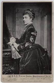 Princess Louise Caroline Alberta, Duchess of Argyll, by Alexander Bassano - NPG Ax5559