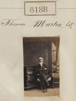 Thomas Martin, by Camille Silvy - NPG Ax56134
