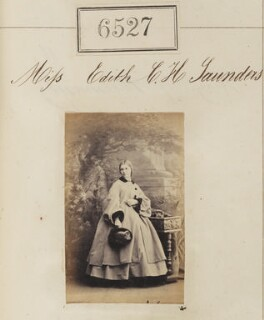 Edith C.H. Saunders, by Camille Silvy - NPG Ax56460