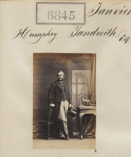 Humphry Sandwith, by Camille Silvy - NPG Ax56768