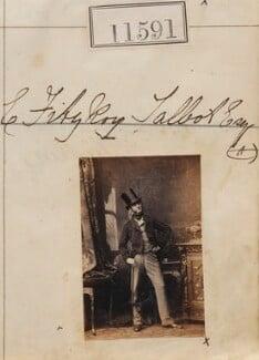 Edward Fitzroy Talbot, by Camille Silvy, 8 September 1862 - NPG Ax61275 - © National Portrait Gallery, London