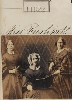 Miss Rushforth and two unknown women, by Camille Silvy - NPG Ax61305