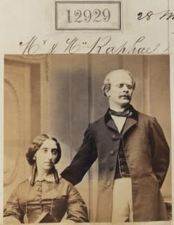 Mrs Raphael; Mr Raphael, by Camille Silvy - NPG Ax62570