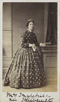 Mrs Inglefield (née Thiebeiult), by Unknown photographer - NPG Ax68031