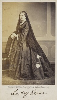 Lady Laura Keane (née Keatinge), by Ghémar Frères - NPG Ax68036