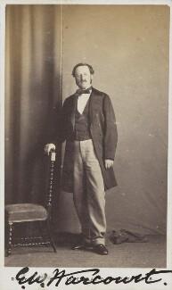 Edward William Vernon Harcourt, by Unknown photographer - NPG Ax68069