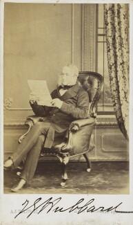John Gellibrand Hubbard, 3rd Baron Addington, by A.J. (Arthur James) Melhuish - NPG Ax68070