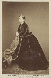 Mrs Goring, by Lock & Whitfield - NPG Ax68073