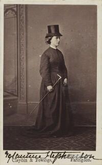 Eglantine Stephenson (née Pleydell-Bouverie), by Clayden & Fewings - NPG Ax68075