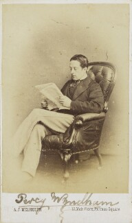 Percy Scawen Wyndham, by A.J. (Arthur James) Melhuish - NPG Ax68079