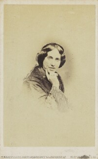 Catherine Gladstone (née Glynne), by William Walker & Sons - NPG Ax68082