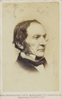 William Ewart Gladstone, by William Walker & Sons - NPG Ax68084