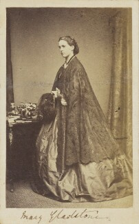 Mary Drew (née Gladstone), by Unknown photographer - NPG Ax68088
