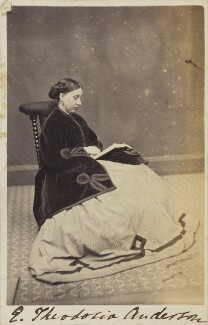 Emma Theodosia Anderson, by Unknown photographer - NPG Ax68092